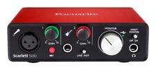 Focusrite Scarlett Solo 2nd Generation USB Audio Interface - Red