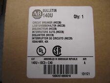 NEW ALLEN-BRADLEY CIRCUIT BREAKER 140U-I0C3-C40