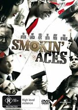 SMOKIN' ACES DVD Ben Affleck Andy Garcia Alica Keys ACTION ADVENTURE (Sealed)>R4