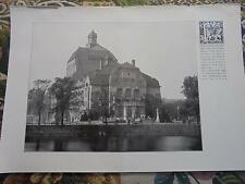 1909 ...Bauzeitung 15n / Theater Kiel