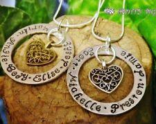 Bigiotteria in argento con cuore in bronzo