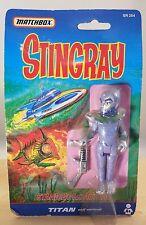 STINGRAY TITAN ACTION FIGURE MATCHBOX 1992 SEALED NEW VINTAGE MOC MINT
