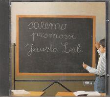 FAUSTO LEALI SAREMO PROMOSSI CD