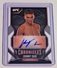 2015 Topps UFC Chronicles Autograph Johnny Case
