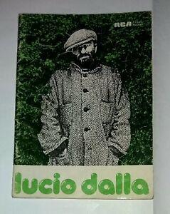 Lucio Dalla - Spartiti musicali di 16 brani - RCA 1981