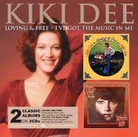 Kiki Dee - Loving and Free/I've Got The Music In Me [CD]