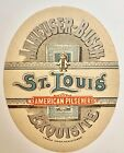 VERY RARE! Vintage Pre-Pro Anheuser Busch Exquisite Beer Label St Louis MO