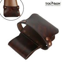 Tourbon Leather Shotgun/Rifle Holder Gun Stock Carry Holster Waist Hip Pack Belt