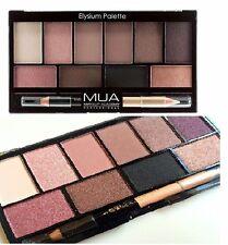 MUA Eyeshadow Palette - Elysium with highlighting shades & double eye pencil