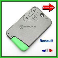 Coque Carte de Remplacement Télécommande Plip Clé Renault 3 boutons Vel Satis