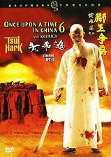 Once Upon a Time in China 6 - Hong Kong RARE Kung Fu Martial Arts Action movie