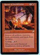 MTG 4X SCOURGE DECREE OF ANNIHILATION MINT MAGIC THE GATHERING CARD RED RARE
