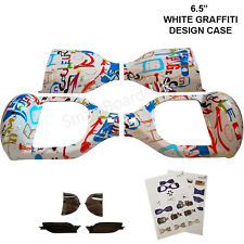 "White Graffiti 6.5"" Skateboard parti in plastica Shell SWEG custodia 6.5 in (ca. 16.51 cm) TELAIO UK"