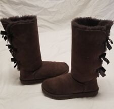ugg boots size 7 bailey bow