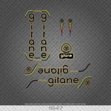 1847 Gitane Bicycle Stickers - Decals - Transfers - Black/Gold