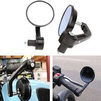 """7/8"""" Handle Bar End Mirrors For Honda CB1000R CB1300 Hornat CBF600 Z1000 Z750"""