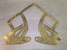68 Chevelle SS 396 El Camino Original Hood Hinges Very Clean 1 Year Only