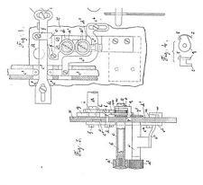Nähmaschine/Stickmaschine Gegauf, Saurer, Cornely: Schweizer Dokumente -1909