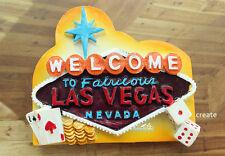 Las Vegas, USA Reiseandenken 3D Polyresin Kühlschrankmagnete Souvenir Magnet