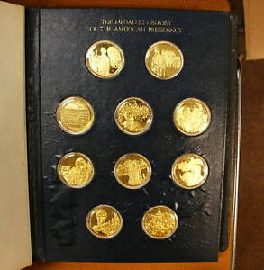 Medallic History of American Presidency, Gold on Silver