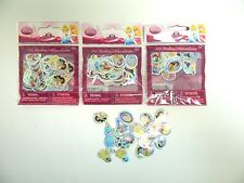DISNEY PRINCESS Mini Stickers - Party Favors, Crafts 104 ea - LOT OF 3