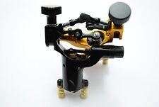 2PCs Yellow & Black Dragonfly Rotary Liner Shader Body Art Tattoo Machine Gun