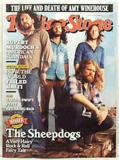 ROLLING STONE MAGAZINE ISSUE 1137 THE SHEEPDOGS AMY WINEHOUSE DEATH AUG 18 2011
