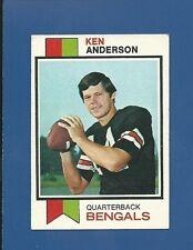 1973 Topps # 34 Ken Anderson RC - Cincinnati Bengals - EX+  additional ship free