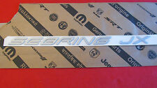 "New OEM Silver Chrysler ""SEBRING JX"" Nameplate Emblem Letter Kit Badge 5288434"