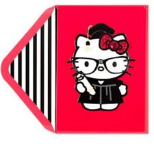 PAPYRUS SANRIO HELLO KITTY GRADUATION CAP SCHOOL GLASSES CARD