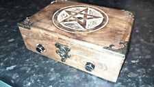 Hand made, Pentagram, AM / FM Analogue Ghost box for ITC use.