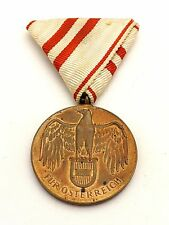 "1914-1918 FUR OSTERREICH MILITARY MEDAL ""FOR AUSTRIA"""