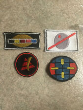 Power Rangers in space andros red ranger cosplay patches