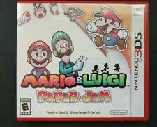 Mario & Luigi Paper Jam (3DS) Replacement Case *CASE ONLY*