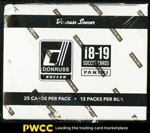 2018 Donruss Soccer Factory Sealed Jumbo Box, 12ct Packs