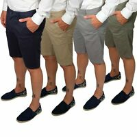 Pantalone Uomo Bermuda Cotone Jeans Pantaloni Corti Shorts Pantaloncini