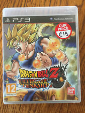 Dragon Ball Z Ultimate Tenkaichi PS3 USED UK PAL Sony PlayStation 3 DBZ game