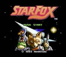 Star Fox-SNES Super Nintendo Spiel Starfox