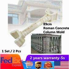 89cm Balustrades Molds Plastic Roman Column Mold Garden Concrete Plaster Cement
