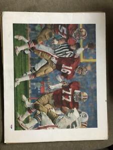 Joe Montana Poster Print Football Signed Autographed Autograph Auto PSA/DNA COA