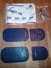 Universal Type Crampon Anti Ball Anti Bott Balling Snow Plates +CLIPS GRIVEL G10