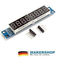 LED 7 Segment Display MAX7219 SPI 5V Anzeige Modul Arduino Raspberry