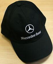 original Mercedes Benz Base Cap Mütze Schrift Zug Weiß weiss  Basic schwarz neu