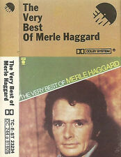 Merle Haggard ‎The Very Best Of   CASSETTE ALBUM COMPILATION COUNTRY EMI CAPITOL