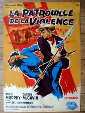 french poster 60 x 80 western BULLET FOR A BADMAN, AUDIE MURPHY, GUY GERARD NOEL