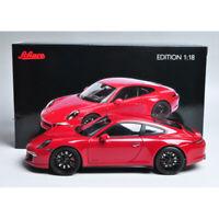 Schuco 1:18 Scale 2016 Porsche 911 Carrera GTS Red Diecast Car Model Collection
