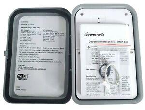 Dewenwils Outdoor Wi-Fi Smart Box Sku: HOWTO1A Alexa Compatible Multi-Volt