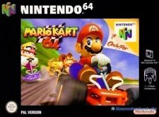 N64 / Nintendo 64 Spiel - Super Mario Kart 64 (mit OVP)