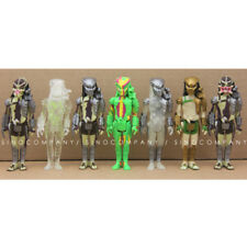 Lot 7PCS FUNKO Predator ReAction 3.75in. Stealth Masked Open Figure Toy Gift