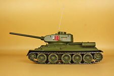 1/24 T34 main battle tank(34cm*12.5cm*22cm Includes barrel and antenna)